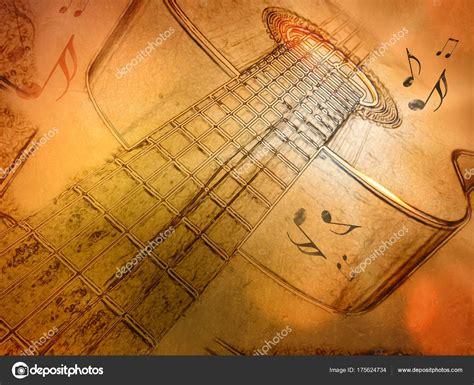 imagenes retro guitarra fondo de m 250 sica vintage p 243 ster retro de la guitarra