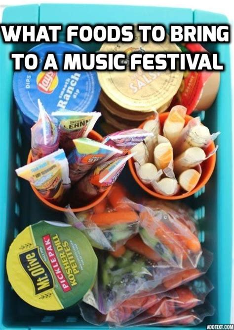 7 Things To Bring Cing by What Foods To Bring To A Festival