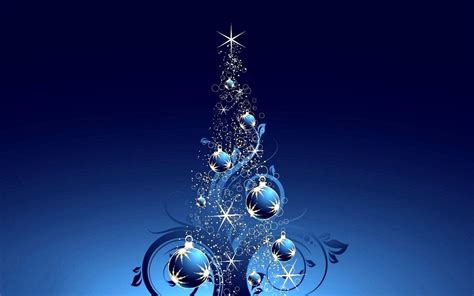 blue christmas tree wallpaper wallpapersafari