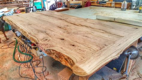 making a cherry wood table from a log youtube