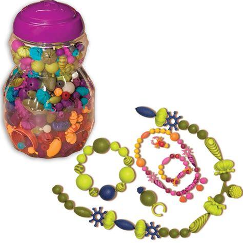 b pop arty b pop arty snap jewelry craft jar educational toys planet