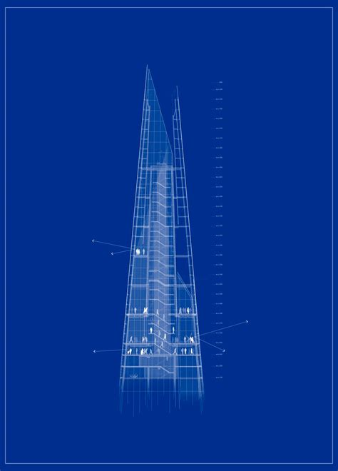 the shard section renzo piano the shard in london opens to public