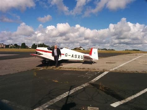 plymouth airport jodel escapes from plymouth airport flyer