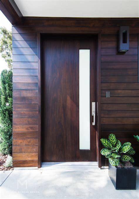 modern wood front door melissa morgan design melissa