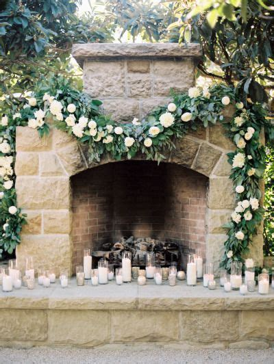 Fireplace Garlands by 25 Best Ideas About Wedding Fireplace On