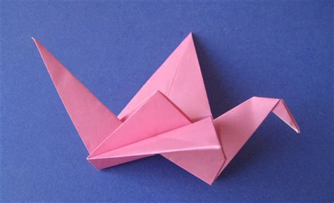 Origami Swan With Flapping Wings - how to fold an origami flapping bird