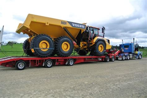volvo ah articulated hauler launched   zealand transdiesel