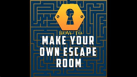 Create Your Own Print Room by How To Make Your Own Escape Room