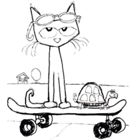 coloring page pete the cat top 20 free printable pete the cat coloring pages online