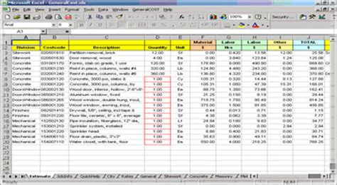 Construction Cost Estimating Blog: Construction take off