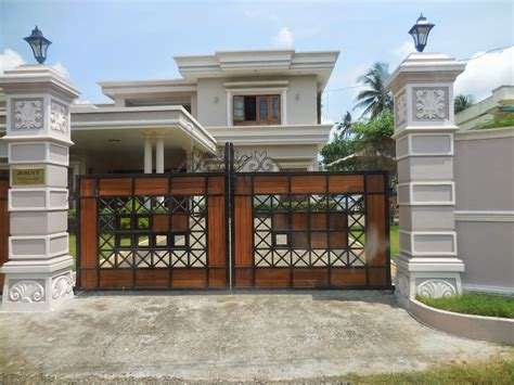 kerala gate designs a beautiful house gate from kerala