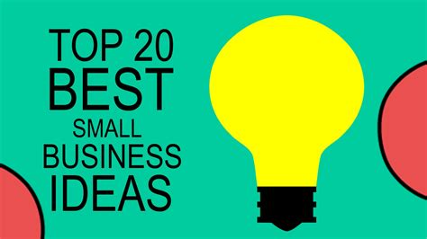 best ideas top 20 best small business ideas for beginners in 2017