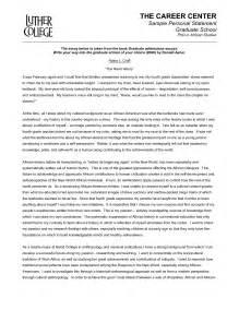 Graduate School Essay Exles by Graduate School Personal Statement Template