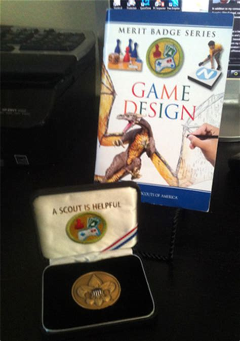 game design merit badge book the game design merit badge the best games are yet to be