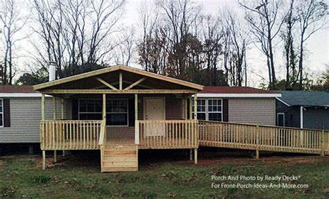 porch designs for mobile homes decks front porches and