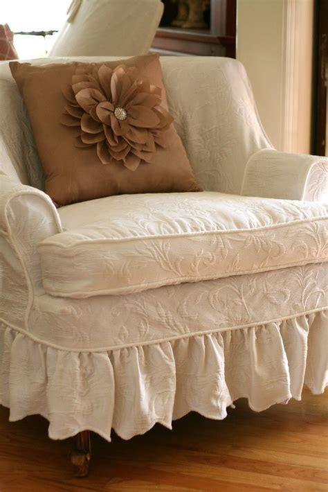 images  shabby chic slipcovers  pinterest chair slipcovers shabby chic chairs