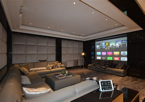 Home Cinema Interior Design by Home Cinema Interior Design Cyberhomes