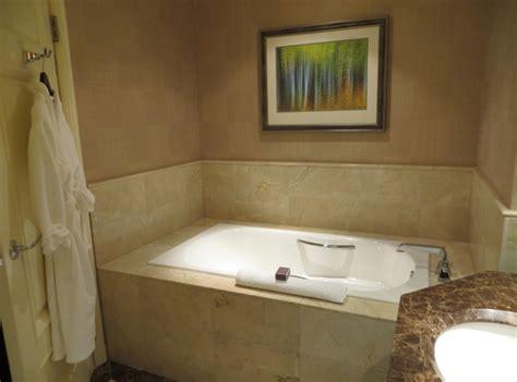bathtub in room ritz carlton denver hotel review