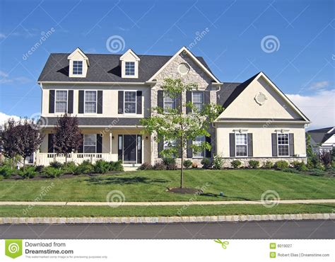 home photos upscale suburban home 2 stock image image of residence