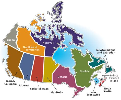 canadian map of provinces and territories agriculture in canada by province or territory