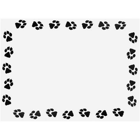 free printable dog stationery top 10 free borders for printable stationery available