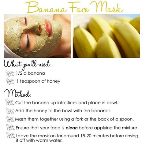 diy banana mask quot diy banana mask quot hair nails clothes