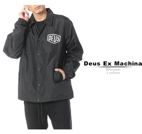 Kaos Deus Ex Machina Mocincloth 15 楽天市場 deus ex machina デウス エクス マキナ ジャケット コーチジャケット デウスエクスマキナ メンズ トップス ブルゾン ナイロンジャケット アウター ブルゾン