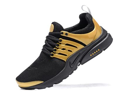black and gold mens sneakers nike air presto black gold mens running shoes sneakers