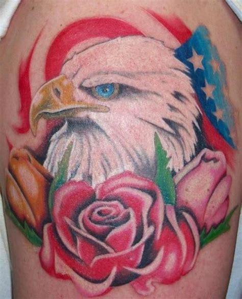 simple eagle tattoo designs american eagle tattoos