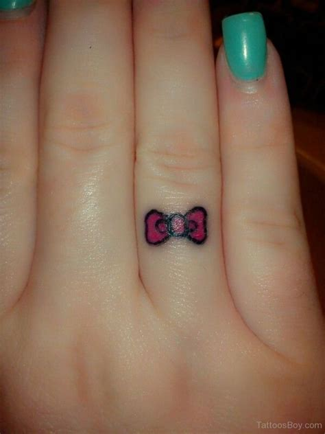 super small tattoos bow tattoos designs pictures page 3