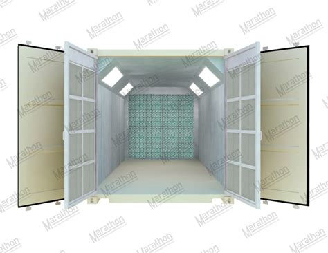 spray painting booth design transportable mobile container spray paint booth
