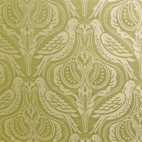 green curtain fabric smd textiles song thrush palm green curtain fabric closs
