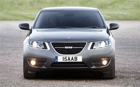 all new saab 9 5 saloon widescreen car wallpaper