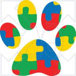 Ordinary Christmas With Dogs Pictures #3: 1278883_colorful_jigsaw_puzzle_aspergers_autism_service_dog_paw_print.jpg