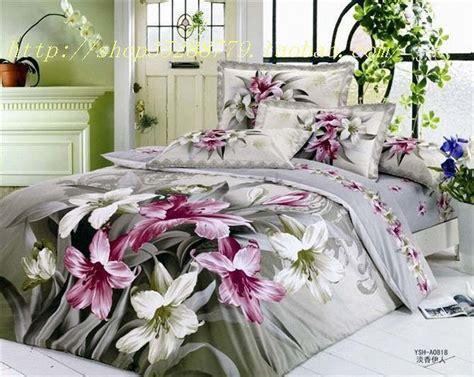Grey Floral Bedding by Grey Floral Flower Bedding Comforter Set Sets For King