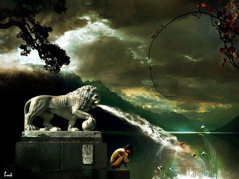 imagenes abstractas irreales paisajismo paisaje fantasiso