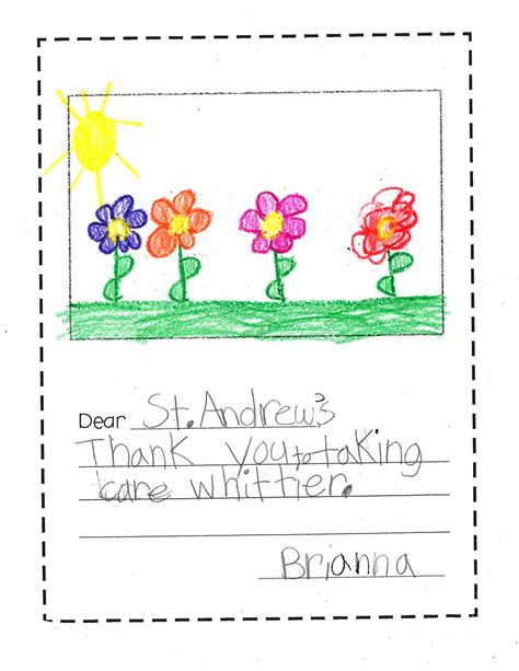 Thank You Letter To From Elementary Student Thank You From Whittier Elementary Highlights Live