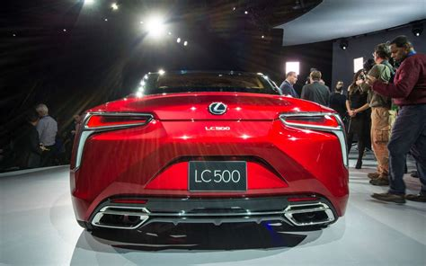 New and Stunning Lexus LC 500 Debuted at NAIAS 2016