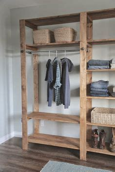 diy industrial style wood slat white build a industrial style wood slat closet