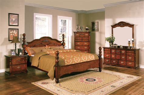 Solid Pine Bedroom Furniture Sets Coventry Solid Pine Rustic Style Bedroom Furniture Set