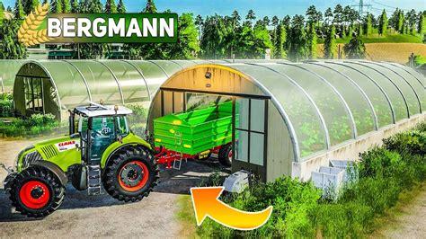 ls hof bergmann  gewaechshaus  betrieb genommen landwirtschafts simulator  farming