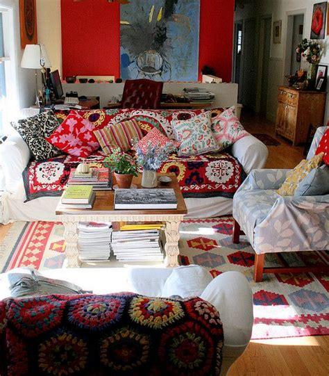 bohemian living rooms ideas  pinterest living