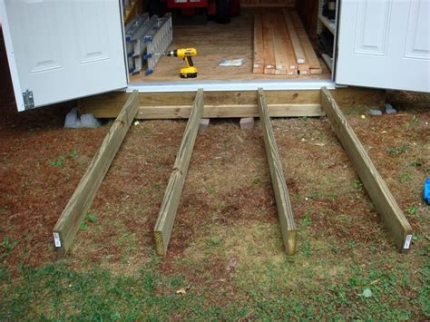 storage shed ramp ideas ideas  pinterest shed