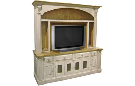 armoires with shelves provincial tv armoire with open shelves kate madison furniture