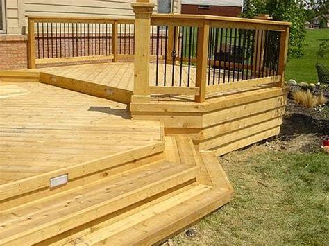 custom decks decks carroll siding