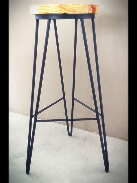 banquetas taburetes taburete banqueta banco silla hierro y madera banquetas