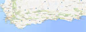 map of south coast driving the must see southern south africa coastline