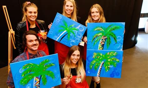 2 Hour Social Painting Event Paint The Nite Groupon