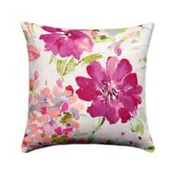 Flowered Pillows - paint palette orchid watercolor floral pillow