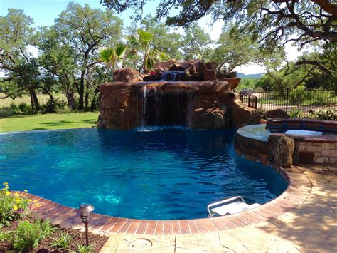 water features fossil creek pools spring branch tx